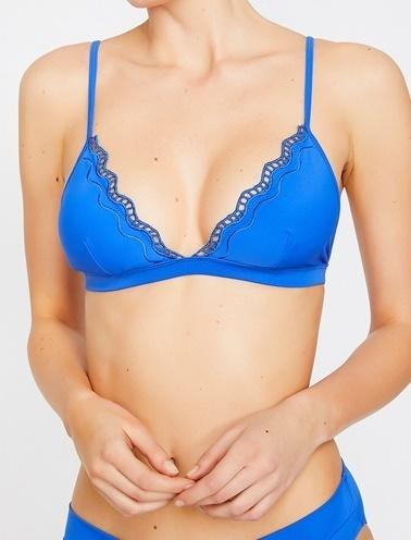 Koton Bikini Üst Mavi